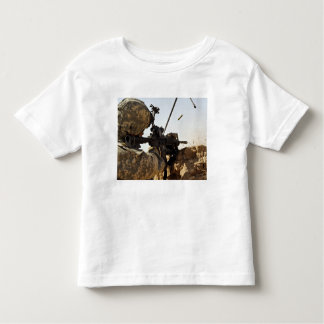 soldier engages enemy forces toddler t-shirt