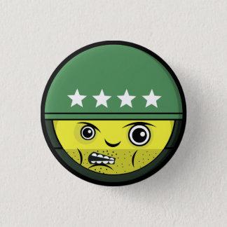 Soldier Face 1 Inch Round Button