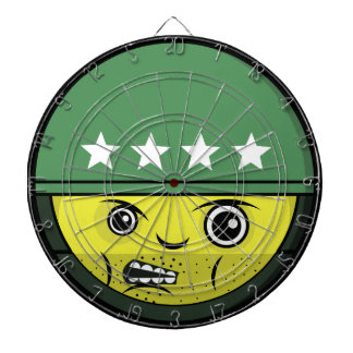 Soldier Face Dartboard