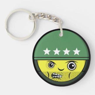 Soldier Face Keychain