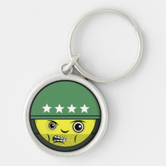 Soldier Face Keychain