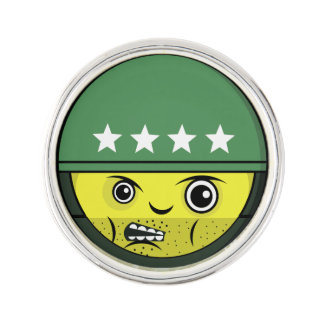 Soldier Face Lapel Pin