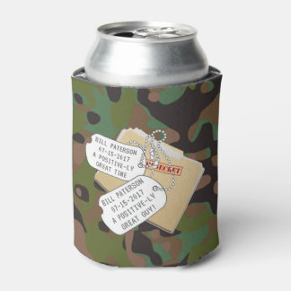 Soldier Joe GI Camouflage Party Can Cooler
