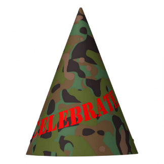 Soldier Joe GI Camouflage Party Hat