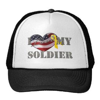 Soldier Love Trucker Hat