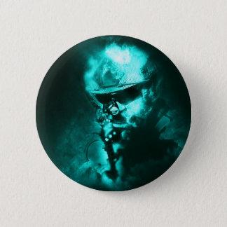 soldier neon 2 inch round button