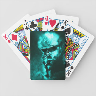 soldier neon bicycle playing cards