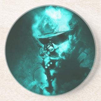 soldier neon coaster
