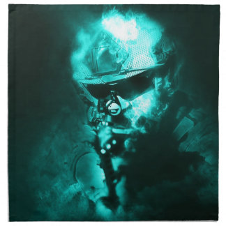 soldier neon napkin