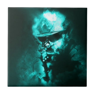 soldier neon tile