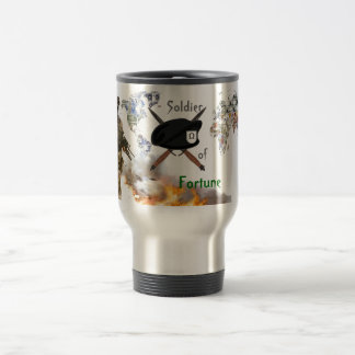Soldier of Fortune Beret Mercenary Mug