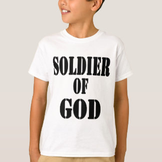 Soldier of God 5 Noir T-Shirt