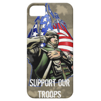 Soldier Salute design iPhone 5 Cover