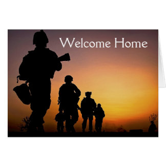 Soldier Welcome Home card