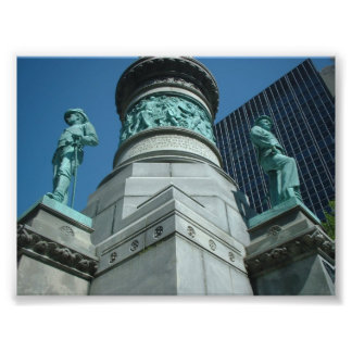 Soldiers and Sailors Monument Buffalo NY Photographic Print