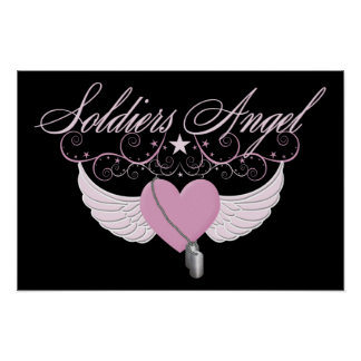 Soldiers Angel Poster