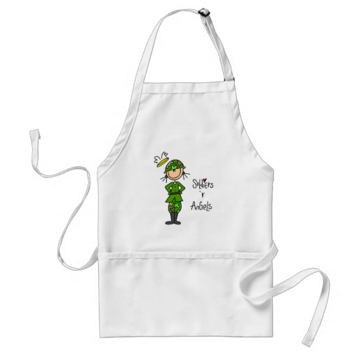Soldiers Are Angels (Female) Apron