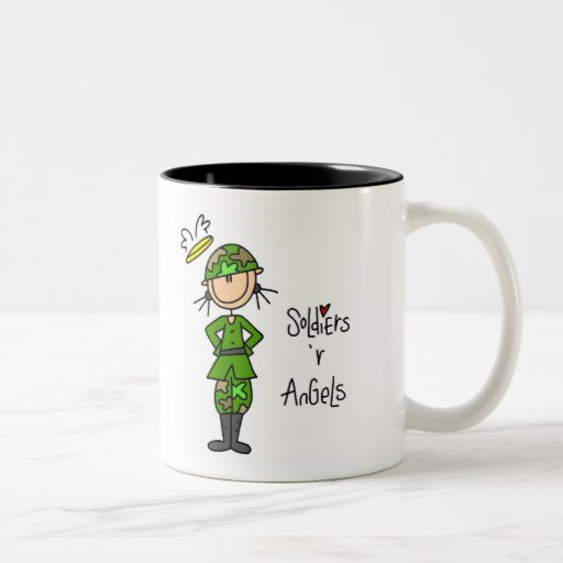 Soldiers Are Angels (Female) Mug
