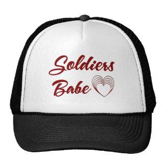 Soldiers Babe Trucker Hat
