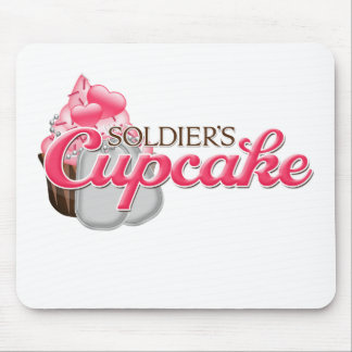 Soldier's Cupcake Mouse Pad
