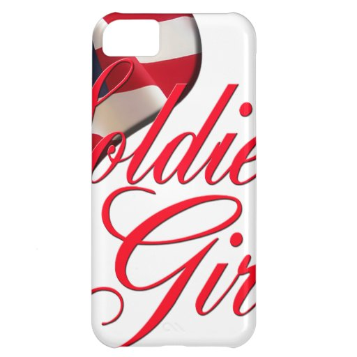 soldier's girl iPhone 5C cases