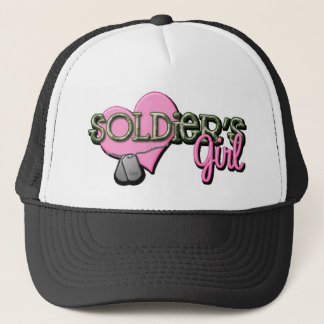 Soldiers Girl Trucker Hat