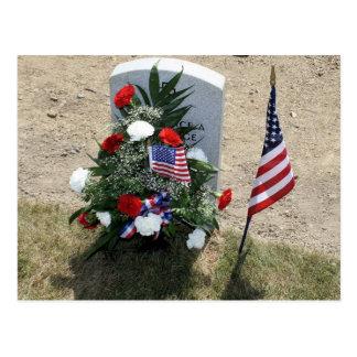 Soldier's Grave Postcard