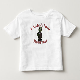 Soldier's Little Monster Toddler T-shirt
