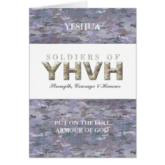 SOLDIERS OF YHVH CARD