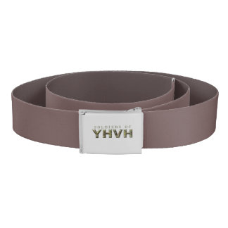 SOLDIERS OF YHVH Christian Belt