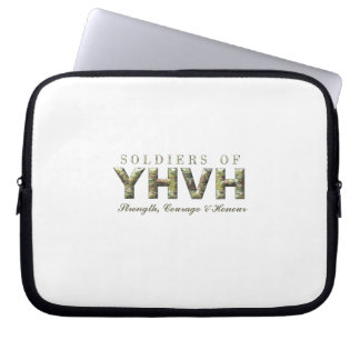 SOLDIERS OF YHVH Christian Laptop Sleeve
