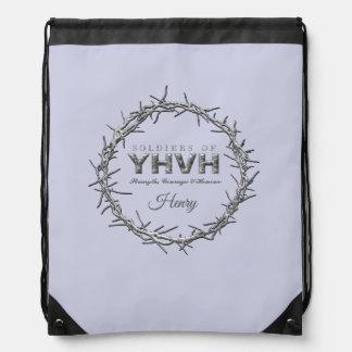 SOLDIERS OF YHVH DRAWSTRING BAG