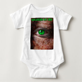 Soldiers of ZED Cover 1st Edition Baby Bodysuit