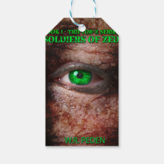 Soldiers of ZED Cover 1st Edition Pack Of Gift Tags