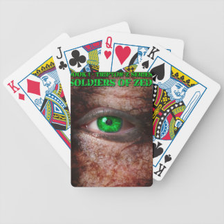 Soldiers of ZED Cover 1st Edition Poker Deck
