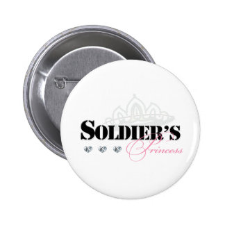 Soldier's Princess 2 Inch Round Button