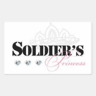 Soldier's Princess Sticker