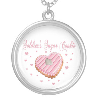 Soldier's Sugar Cookie Necklace