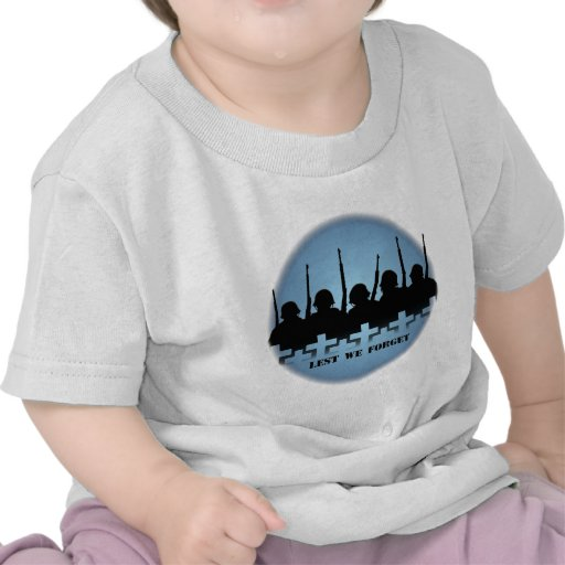 Soldiers Tribute Baby T-shirts War Memorial Shirts