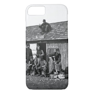 Soldiers' Winter Quarters_War Image iPhone 7 Case