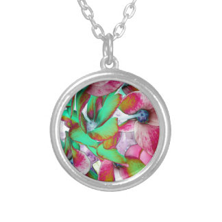 solegreen silver plated necklace