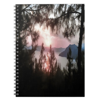 Solemn Sunset Notebooks