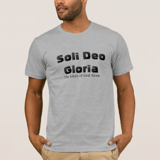 Soli Deo Gloria/ Romans 11:36 T-Shirt