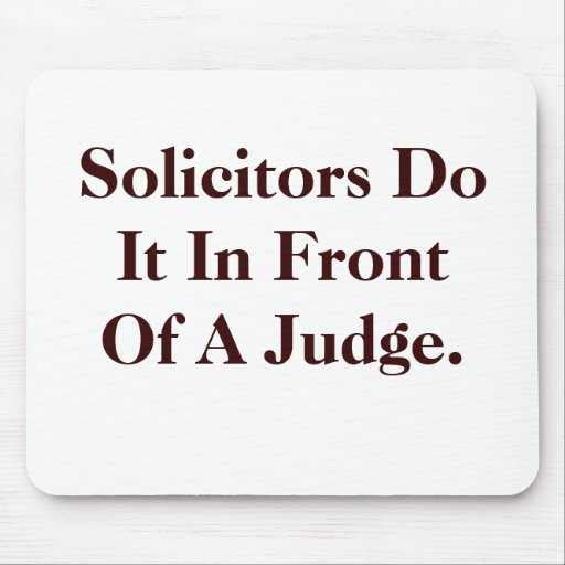 Solicitors Do IT - Cheeky Legal Innuendo Mouse Mats