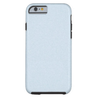 SOLID03 LIGHT BLUE TEXTURED PATTERNS BACKGROUNDS TOUGH iPhone 6 CASE