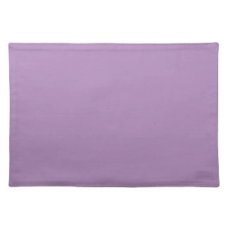 Solid African Violet Purple Table Mat Placemats