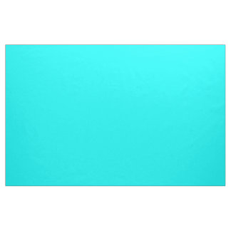 Solid Aqua Fabric
