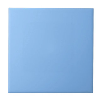 Solid Baby Blue Ceramic Tile