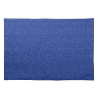 Solid Blue Glimmer Placemats