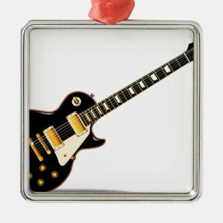 Solid Blues Metal Ornament